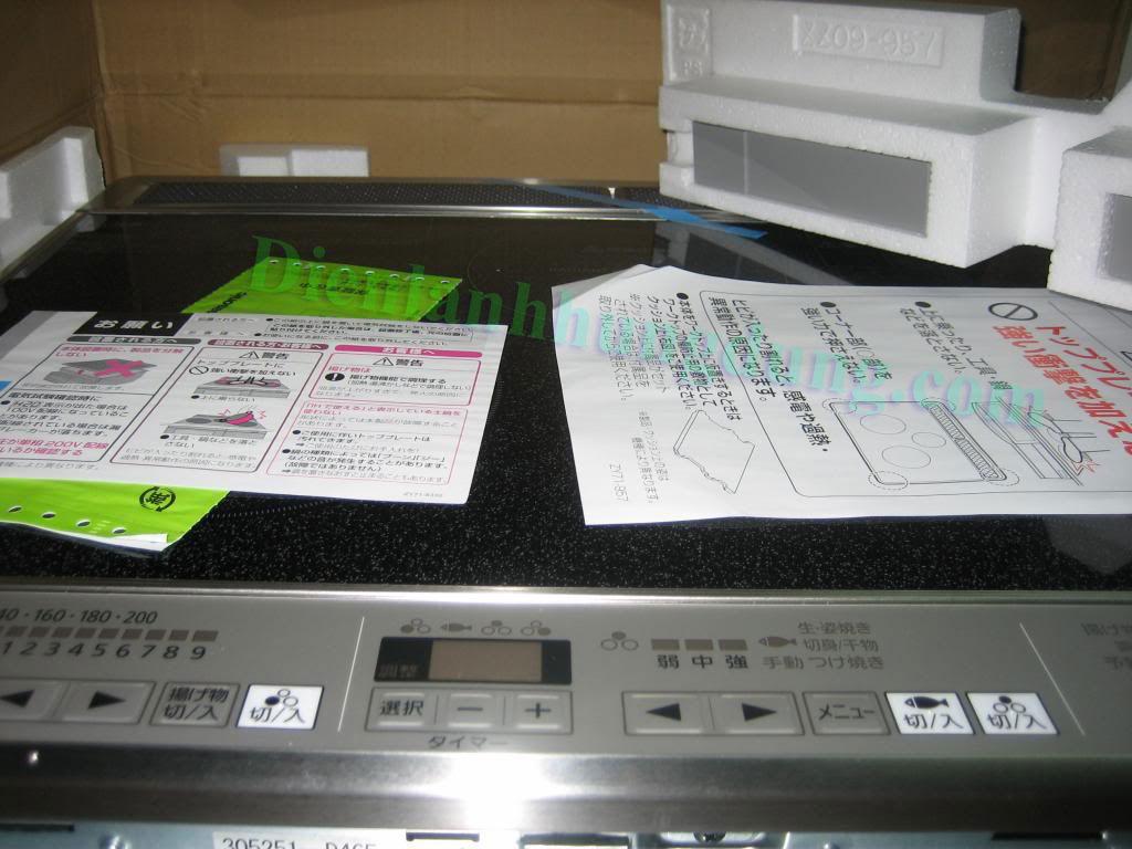 Bếp từ panasonic nhật bản KZ-D32AS2 tại Đống Đa