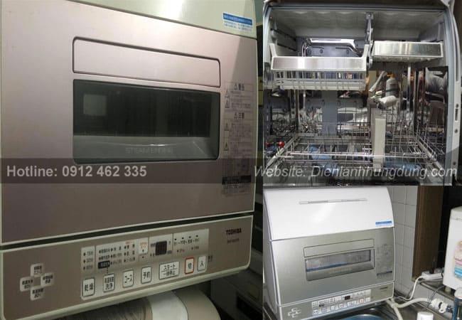 May rua bat noi dia nhat bai Toshiba DWS-600D